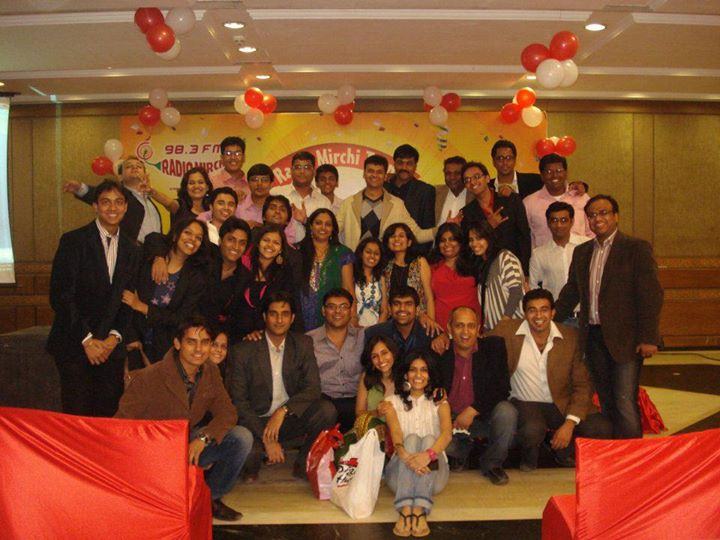 the entire mirchi gang! thank u very much guys...we are what we are because of you.