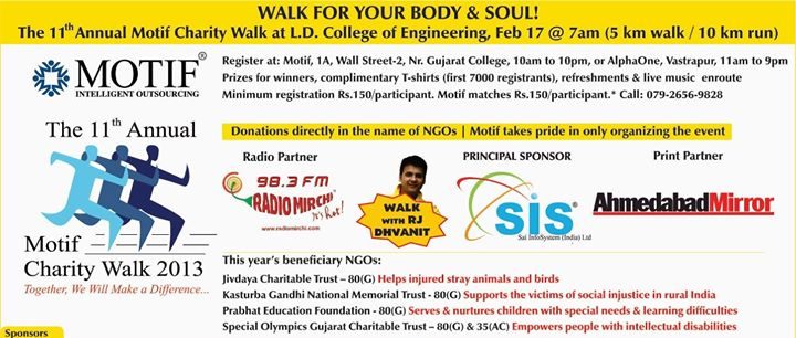 Will you be my Walketine?   Come and walk with me at the Motif Charity Walk on Sunday 17th Feb and be my Walketine...