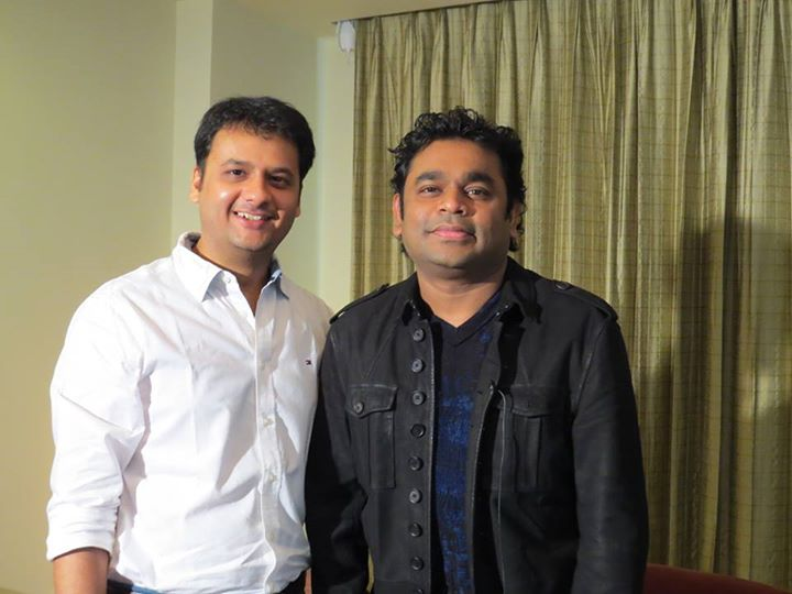 Catch A.R. Rahman with me tomorrow on the morning show 'Hi Amdavad' on Radio Mirchi 98.3FM!