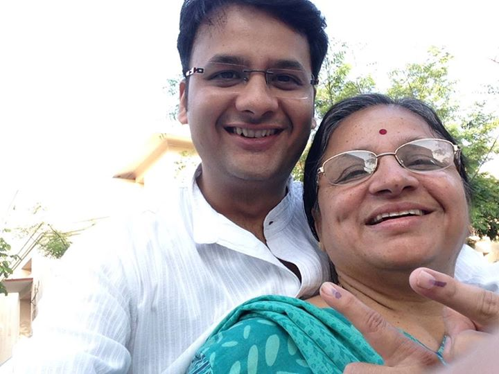 My first ever Selfie with Mom!!  Its the