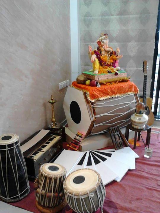 My favorite Ganpati idols this year in Amdavad!   #EcoFriendlyGanesha