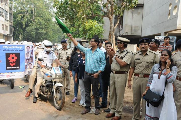 Flagging off the