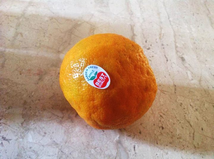 For those who buy fruits just because they have a fancy sticker on them.