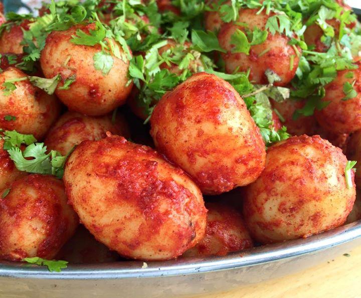 :: ભૂંગળા-બટેકા for a change is fun ::  #potatomissile #pipepotato