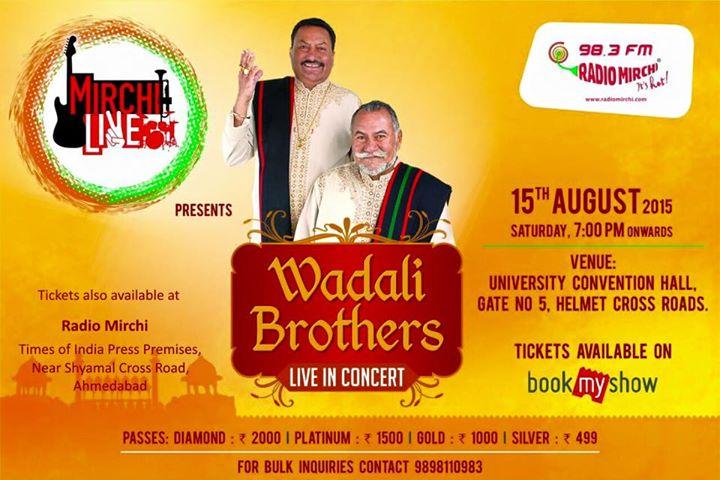 #RadioMirchi #WadaliBrothers #Ahmedabad
