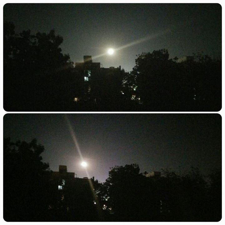 Look at the #moon tonite.. #beauty!  #moonlight #night #nightview  #moonrise #winterishere #winter