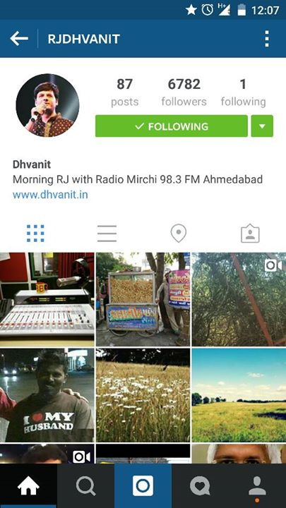 Join me on #Instagram   instagram.com/rjdhvanit