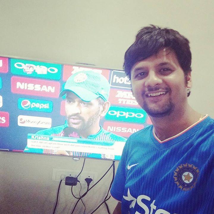 विराट विजय !  #indvsaus #WT20 #bleedblue