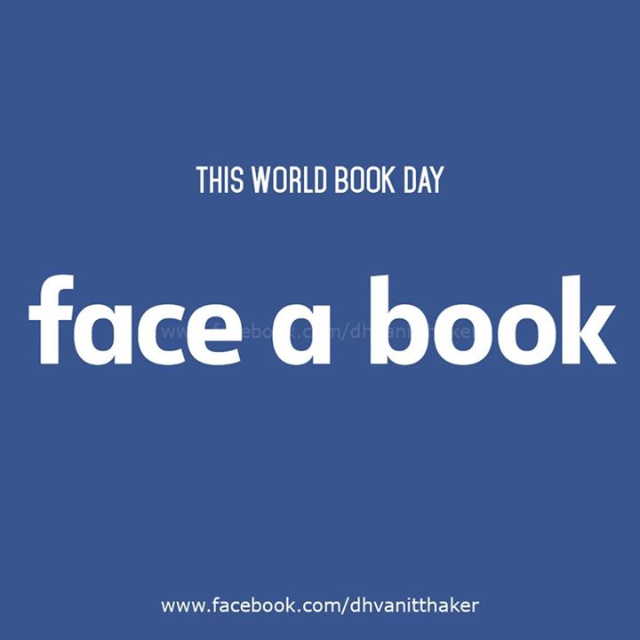 RJ Dhvanit,  faceabook, facebook, book, books, bookreading, amdavad, worldbookday