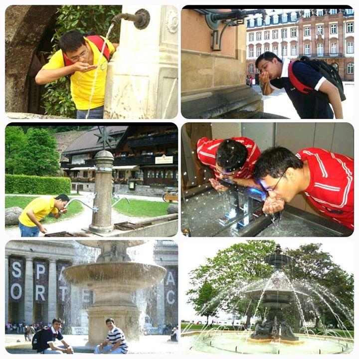 काश ऐसा अहमदाबादमें भी होता!   #fountain #summer #joy   #Europe #throwback #throwbackthursday #tbt