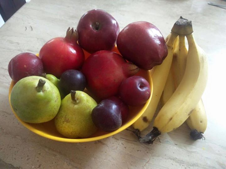 RJ Dhvanit,  Sunday, Ahmedabad, Fruits