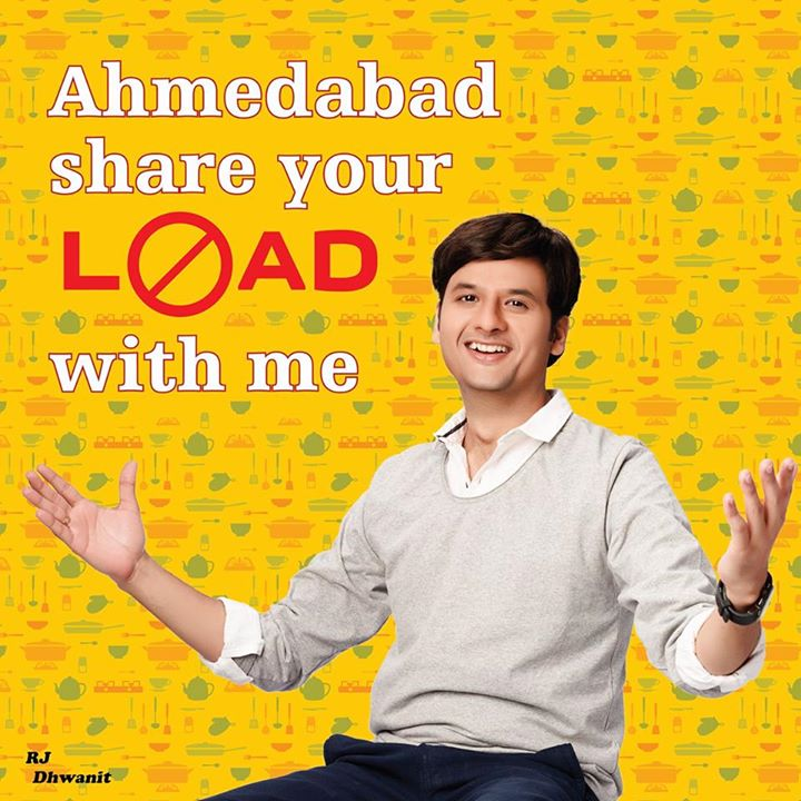 #amdavad ab load mujh pe chod!! Share your #load with me and I will give you a solution. Write to me at dhvanit@radiomirchi.com  #loadnalo