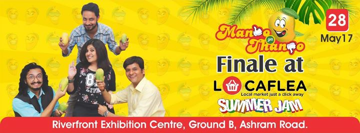 Wanna win 100 boxes of #mangoes? Do join us for the grand finale of #mangoyathango on 28th May, this Sunday at 6pm at Locaflea Summer Jam happening at Riverfront Exhibition Centre.  #mango #summer #amdavad
