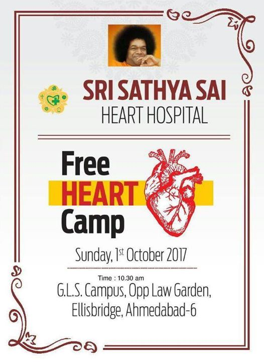 Free Heart Camp for needy heart patients with monthly income below Rs. 15000/- and age not not more than 60 years without any discrimination of Caste, Creed or Religion. If you know someone who needs this help, please pass on the information.