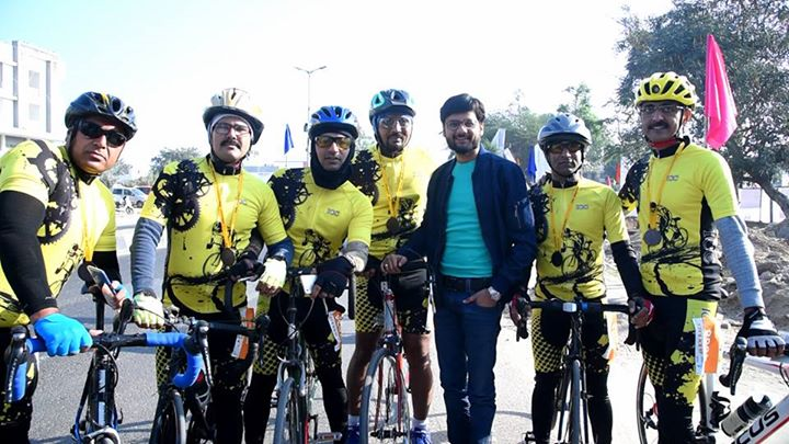 RJ Dhvanit,  cycle, cycling, Cyclotsav, fitness, health