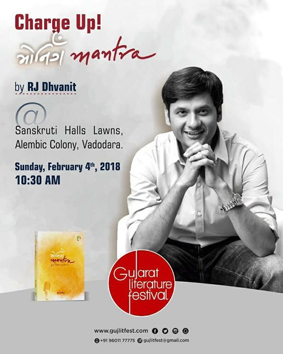 See you #vadodara this Sunday!   #morningmantra #book #motivation #dhvanit #inspiration #glf #gujaratiliterature