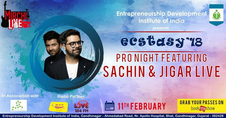 One of my most favorite Gujarati songs is 'Vhaalam Aavo'. The music composers duo @sachinjigar are going to perform live on 11th Feb in Ahmedabad. You can tune into Radio Mirchi and win passes.  @soulfulsachin @jigarsaraiya  #sj #sachinjigar #concert #ahmedabad #amdavad