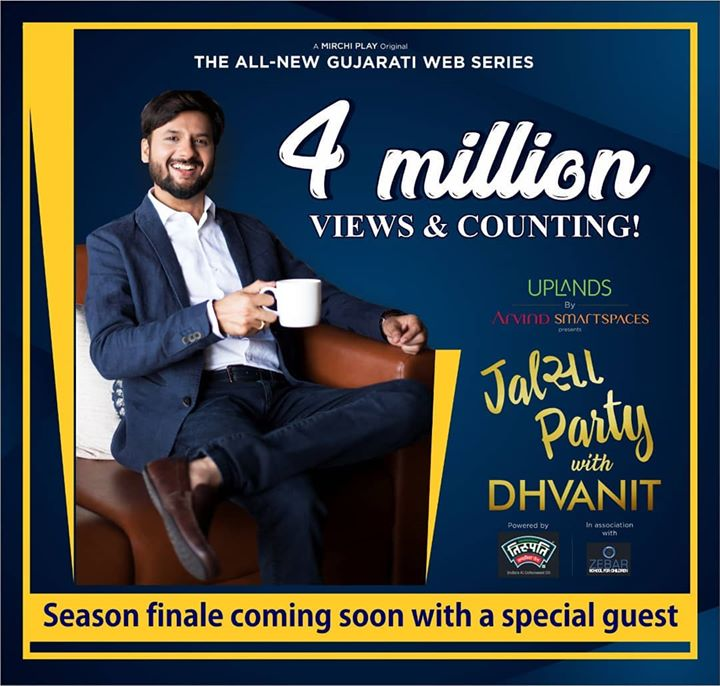 Thank you so much for your over whelming response to #jalsapartywithdhvanit  Season finale episode coming soon!  #jalsaparty #jalsa #party #dhvanit #rjdhvanit #webseries #gujarati #trending