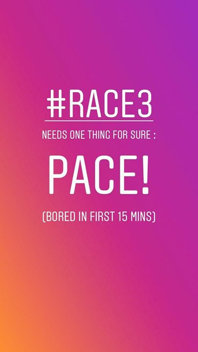 #Race3 #Race3review #Race3WaaliEid #salmankhan #jacqueline #bobbydeol #anilkapoor #dhvanitreviews #dhvanit #moviereview