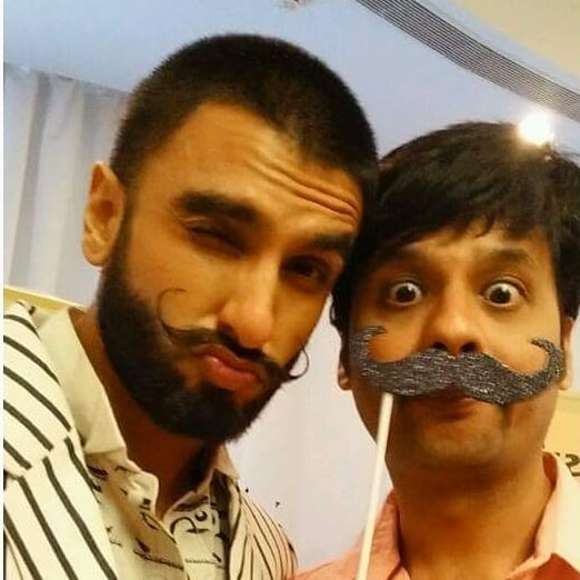 RJ Dhvanit,  happy, birthday, happybirthday, ranveersingh, oldpic, flashback, flashbackfriday