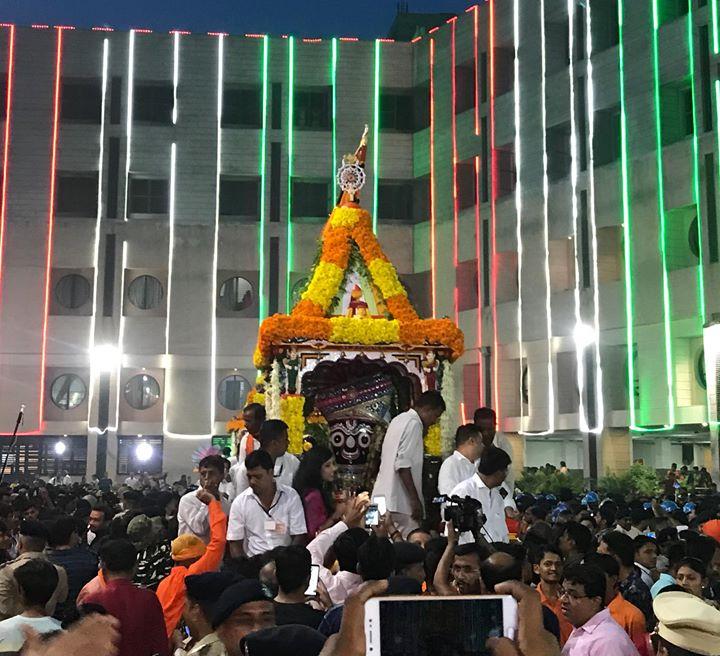 RJ Dhvanit,  Rathyatra2018