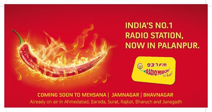 #mirchi is live in #palanpur  #PalanpurKhushHua #64Stations #Mirchi93.7