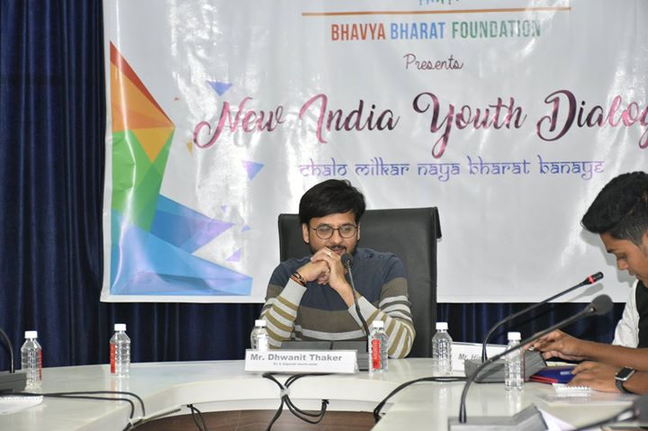 An interactive morning spent with the enthusiastic and passionate students of Bharat Bhavya Foundation!   I was deeply honored to be invited as a key speaker at 'New India Youth Dialogue'. We shared ideas of how we can contribute to progressing the nation & how we can make a better India where equality will be worshipped  #BharatBhavyaFoundation #NewIndiaYouthDialogue