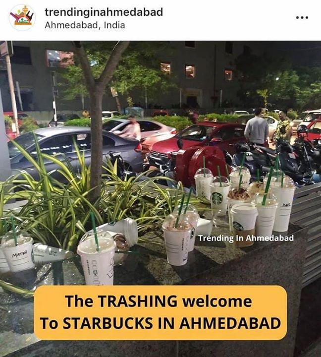 એરપોર્ટ પર જોર-જોરથી વાતો કરવી... વિદેશી યુવતીને વિશેષ રીતે જોવું... હોટેલના રૂમમાંથી towels ની ચોરી કરવી... ગમે ત્યાં કચરો કરવો...  આ લોકો આપણી impression કેમ ડાઉન કરે છે?!!  Starbucks Ahmedabad