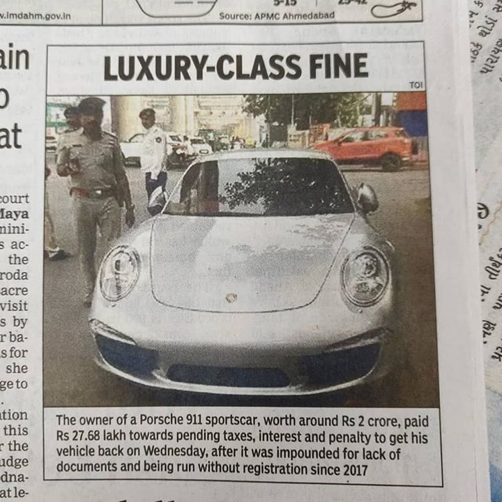 27 lakh નો દંડ!  આટલા માં કેટલી નવી ગાડીઓ આવી જાય? By the way, આ દંડ ની રકમ નો ઉપયોગ પોલીસ શેમાં કરતી હોય છે?   #ahmedabadpolice