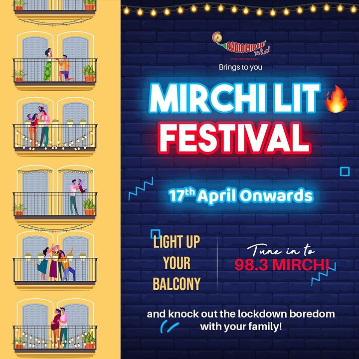 Is lockdown boredom driving you nuts?  Not anymore because Mirchi brings to you Mirchi Lit Festival!  Let's quarantine on the tunes of Mirchi..   #mirchilitfestival #mirchigujarati #stayhomewithmirchi #mirchilocknroll