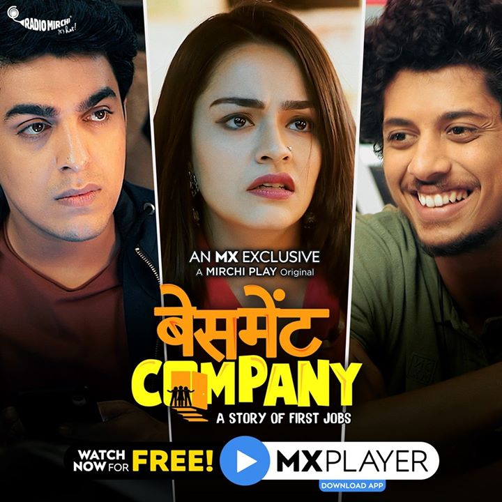 The story of friendship. The story of first jobs. The story of 3 'Badnaseeb Buddies'. #BasementCompany, is a new show out on @mxplayer   Watch for free here: https://bit.ly/BasementCompany_FB_ep1