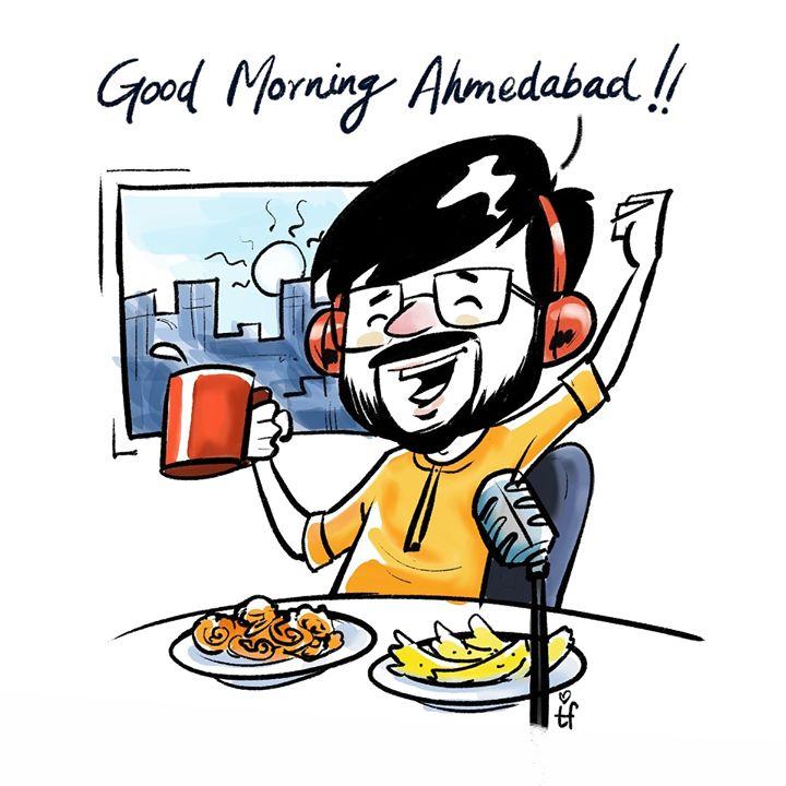 RJ Dhvanit,  rjdhvanit, ahmedabad, gujarat, food