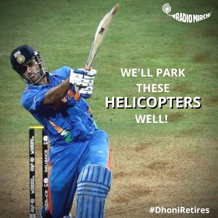 હવે છેલ્લા બોલે સિકસર કોણ મારશે?   આટલા દિવસે મૌન તોડ્યું અને દિલ પણ..   We are grateful to Dhoni for so many beautiful moments of euphoria of victory in the game of cricket!  Mahendra Singh Dhoni #dhoniretires #msd #dhoni #thala #msdhoni #RjDhvanit #RadioMirchi #MirchiGujarati