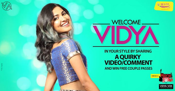 Wanna win passes of Vidya Vox concert? Here's what you need to do..   #vidyavox #concert #ahmedabad #amdavad