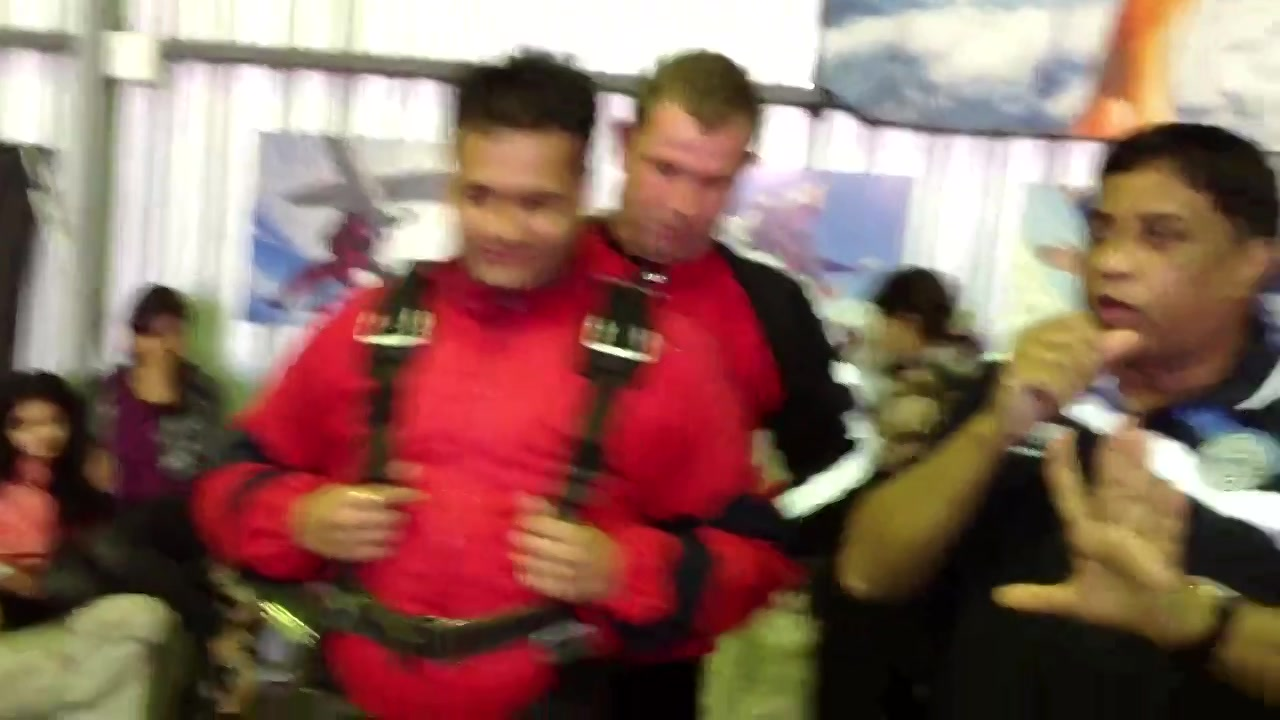 How does it feel before 'Sky Diving'? Scary?  Watch this video taken by @Aman Kanthed right before my sky diving.   In conversation with my dear friend @Sanjiv Chhajer