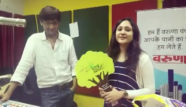 Chandni has a demand from Mirchi Nursery!! Do share with me if you know where can we get the plant she wants.   Watch the video to find out more..  #treeidiot #treeidiots
