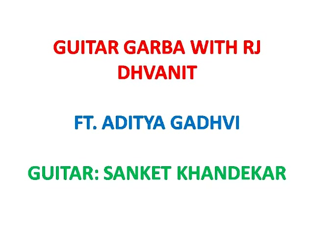 Win* a Hero Duet with Guitar Garba: Day 7!! SIngers: Aditya Gadhvi and Dhvanit Guitar: Sanket Khandekar Sound Mixing and Recording: Darshan Dwivedi The last Guitar Garba coming for you this Monday with Bhumik Shah You can win* a Hero Duet! Send me a One Minute video of your duet Garba Singing/Dancing. Mail it to dhvanit@radiomirchi.com or send it as a DM on my FB, Twitter or Instagram (Do not Whatsapp please). *Conditions Apply #guitargarba #unplugged #garba #navratri