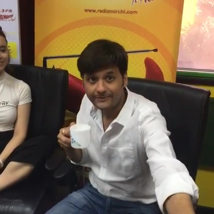 Passport film actors Malhar and Anna on FB Live!