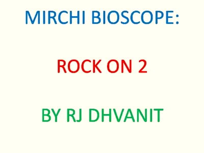 #mirchimoviereview : #rockon2 as jaded as Rs.1000 note   #mirchibioscope #shraddhakapoor #farhanakhtar