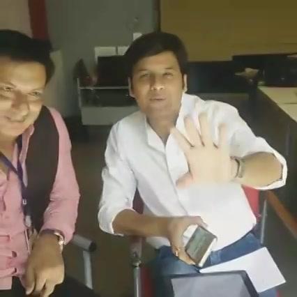 With Madhur Bhandarkar