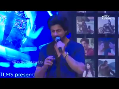 When #shahrukhkhan recited the famous #raees dialogue with me at the Fan Trailer Launch  #srk #throwback #throwbackthursday