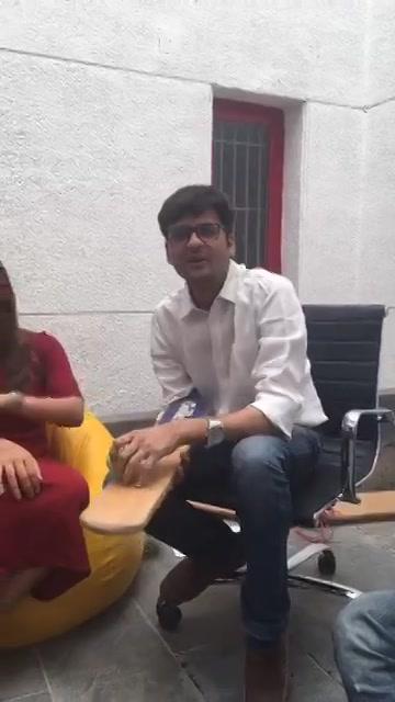Live with Malhar Thakar and the Duniyadari Gang!   Gujarati Film Duniyadari releasing tomorrow.   #facebooklive #duniyadari