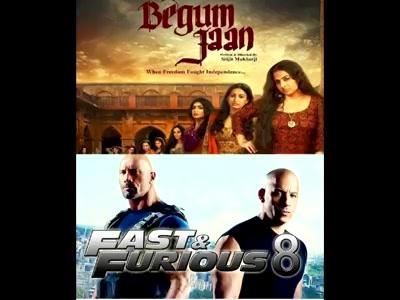#mirchimoviereview : #begumjaan & #fastandfurious8  #mirchibioscope #vidyabalan #fastandfurious Dwayne The Rock Johnson Vin Diesel Vidya Balan