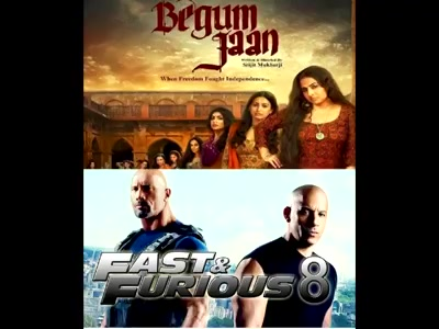 #mirchimoviereview : #begumjaan & #fastandfurious8  #mirchibioscope #vidyabalan #fastandfurious Dwayne The Rock Johnson Vin Diesel Vidya Balan