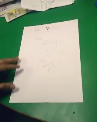 કાગળનું વિમાન!   Making a #paperplane #paper #plane #nostalgia #throwback