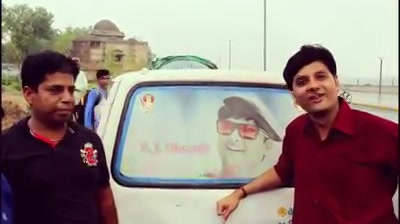 Finally met the man who owns this car!   #rjdhvanit #dhvanit #morningmantra