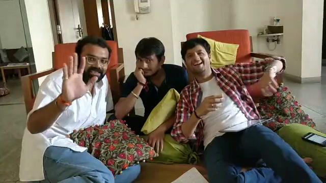 #facebooklive with my #vitaminshe gang - vadeel and maniyo. Missed you Admin!  Prem Gadhavi @maulik jagdish nayak Smit Pandya