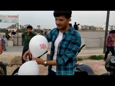 Went to #Riverfront last evening with the #vitaminshe gang and celebrated #friendshipday   #balloons #Rakshabandhan #rakhi Smit Pandya Maulik Jagdish Nayak