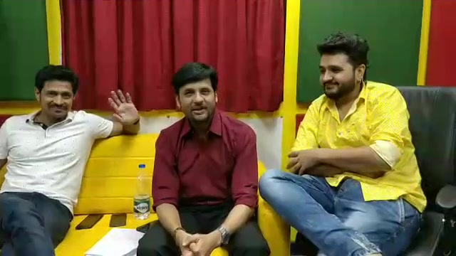 #facebooklive with Wassup Zindagi team  Prem Gadhavi Jayesh More #gujaratifilm