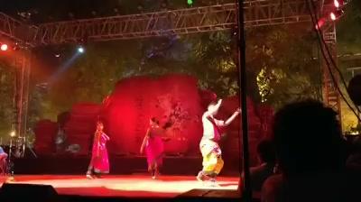 Sonal Vyas and Group performing at #Abhivyakti at Sanskar Kendra  #arts #art #culture #dancing #dance